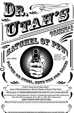 Dr. Utah's 9mm Range Pack - 115 Grain 250 Rounds Pre-Order